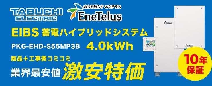 田淵電機 EIBS 蓄電ハイブリッドシステム 4.0kWh