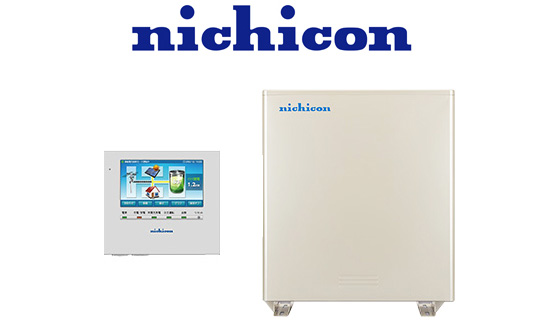 写真:ニチコンの蓄電池