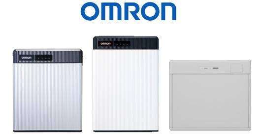 写真:オムロンの蓄電池