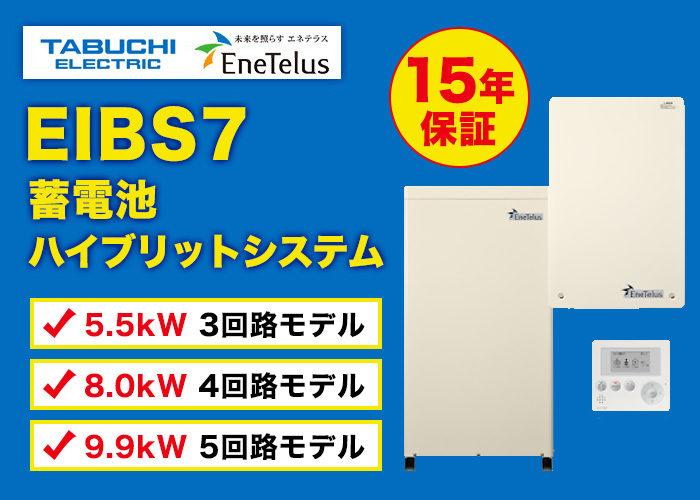 田淵電機 EIBS7 蓄電ハイブリッドシステム